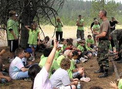 mililtary summer camps